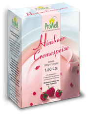 Himbeer-Cremespeise