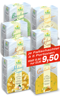 7 ProWell-Suppen von ProWell